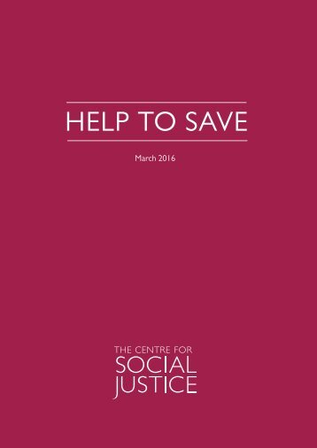 HELP TO SAVE