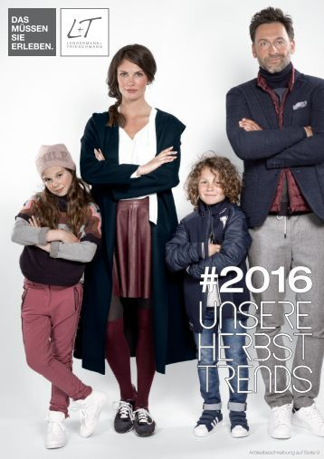 L+T MODE-HERBST TRENDS 2016
