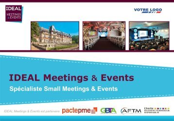 Présentation IDEAL Meetings & Events