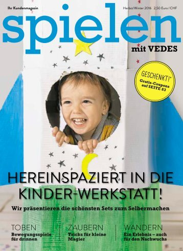 VEDES Magazin Herbst/Winter 2016 | VM26