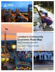 London's Community Economic Road Map