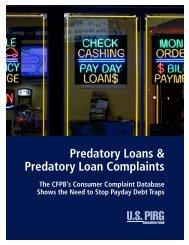 Predatory Loans & Predatory Loan Complaints