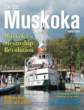 Unique Muskoka August