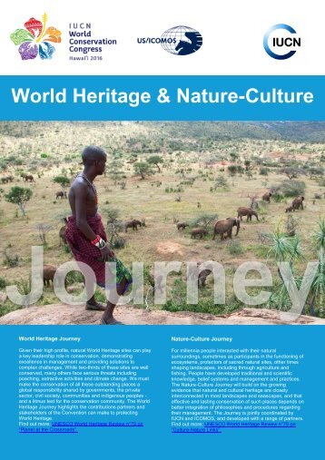 World Heritage & Nature-Culture