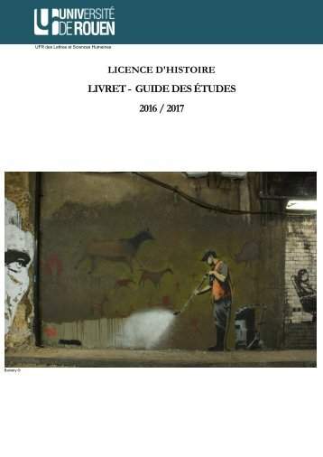 LIVRET - GUIDE DES ÉTUDES 2016 / 2017