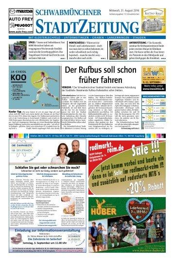 112 Schwabmünchen 31.08.2016