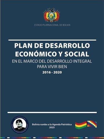 PLAN DE DESARROLLO ECONÓMICO Y SOCIAL