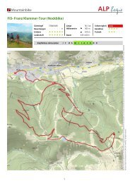 Mountainbike FIS- Franz Klammer-Tour (Nockbike)
