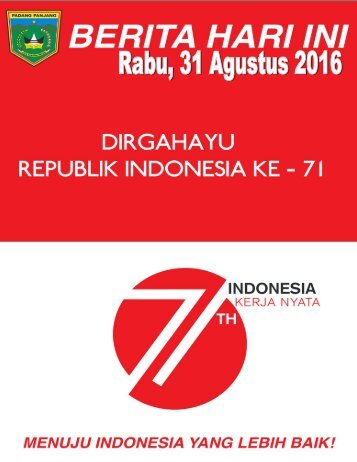 e-Kliping Rabu, 31 Agustus 2016