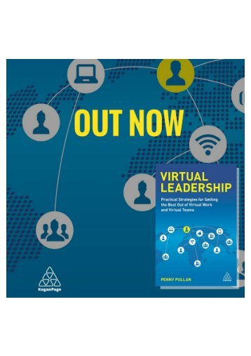 Virtual Leadership Book by Penny Pullan