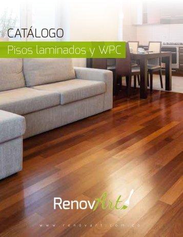 Catálogo de pisos laminados RenovArt