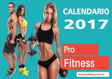 Calendario Profitness 2017