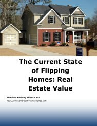The Current State of Flipping Homes Real Estate Value
