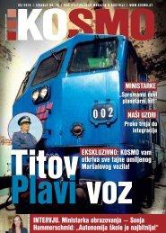 Titov Plavi voz