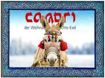 CAMORI der Weihnachts-Esel