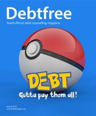 Debtfree DIGI Magazine Aug 2016