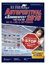 10. Bitburger Autofestival & Sommerfest 2016