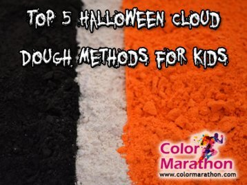 Top 5 Halloween Cloud Dough Ideas for Kids