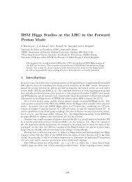 BSM Higgs Studies at the LHC in the Forward Proton Mode