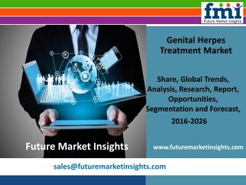 Genital Herpes Treatment Market Genital Herpes Treatment Market Growth and Segments,2016-2026