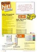 Bürobedarf zu Tiefstpreisen - OfficeHit September 2016 - von Buerogummi.ch - Page 6