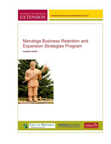 Menahga Business Retention and Expansion Strategies Program