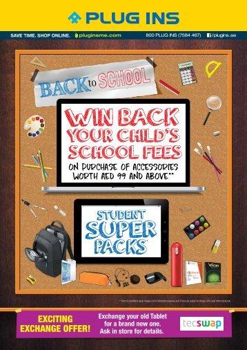 Plug Ins - Back to School