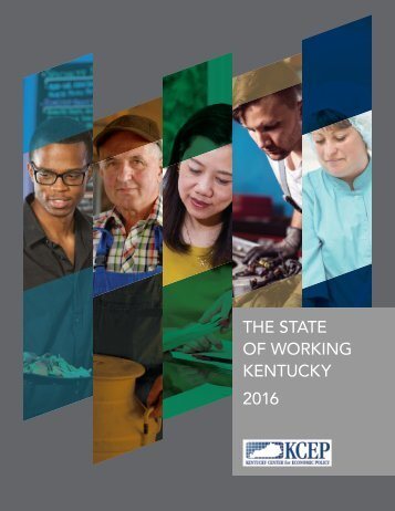 THE STATE OF WORKING KENTUCKY 2016