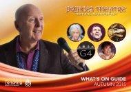 Princes Theatre Programme Autumn 2015