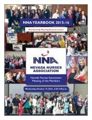 2016 NV Nurses Association Yearbook