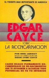 EDGAR CAYCE -REENCARNACION