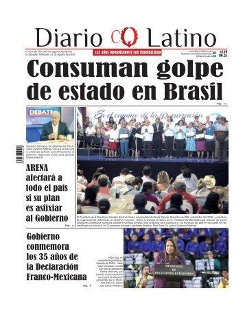 Edición 31 de Agosto de 2016