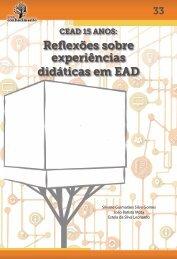 CEAD 15 Anos: Reflexões sobre experiências didáticas em EAD
