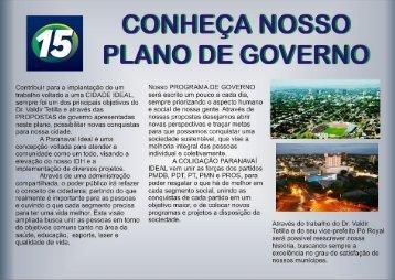 PLANO DE GOVERNO DR. TETILLA E PÓ ROYAL 15