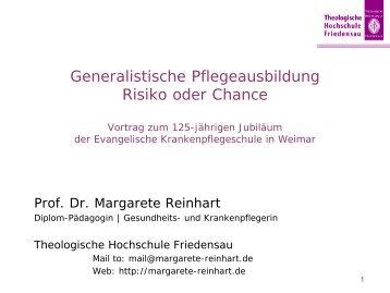 generalistische Pflegeausbildung Master-Studium - Startseite - Dr ...