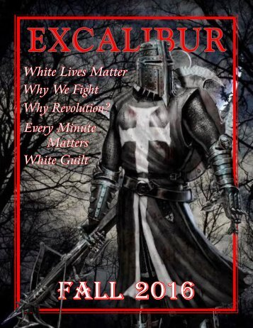 EXCALIBUR FALL 2016 DIGITAL ISSUE