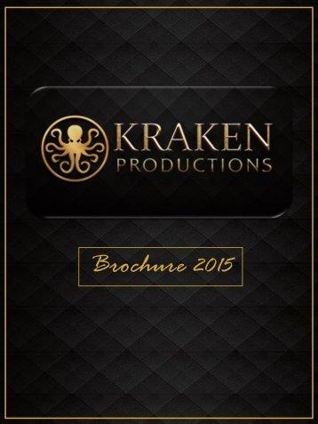 Brochure Kraken Productions 2015