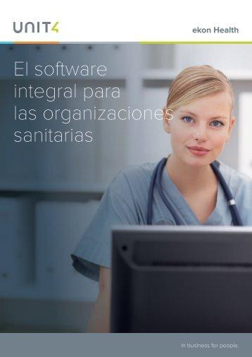 Software para Organizaciones Sanitarias