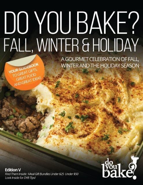 Do You Bake? Winter 2016 Catalog