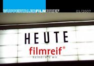 Filmbrief 4 (2007) - Wuppertal Marketing GmbH