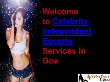 Fresh Celebrity Escorts in Goa for Erotic Services