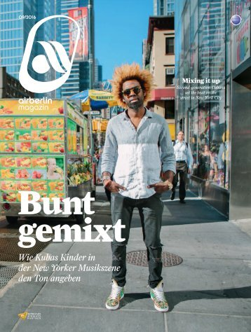 September 2016 airberlin magazin - Bunt gemixt