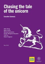 Chasing the tale of the unicorn