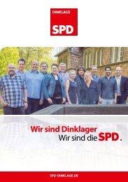 SPD Dinklage Flyer