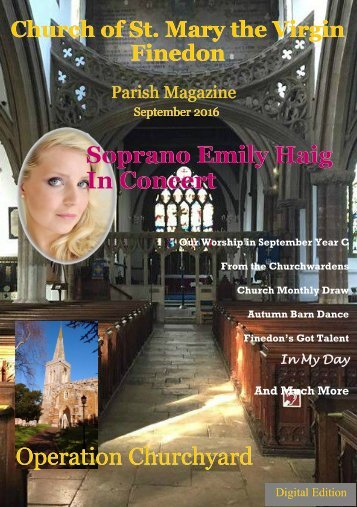 September 2016 Parish Magazine