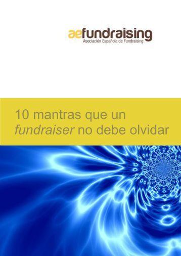 fundraiser no debe olvidar