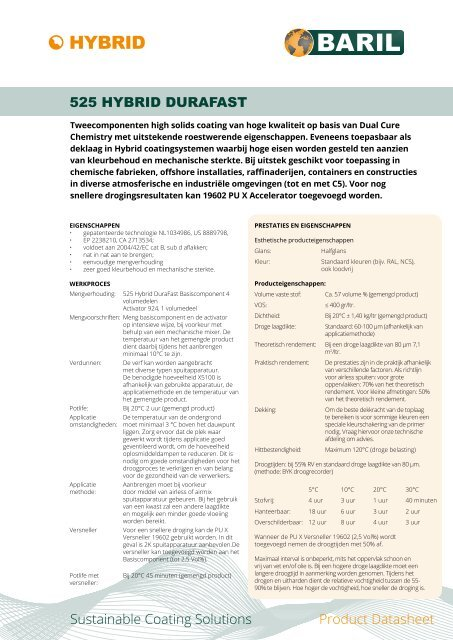 525_Hybrid_DuraFast_datasheet_NL