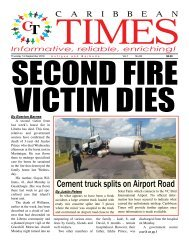 Caribbean Times 83rd Issue - Thursday 1st September 2016