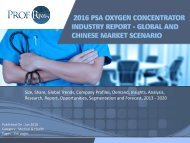 PSA Oxygen Concentrator Industry, 2011-2021 Market Research