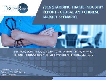 Standing Frame Industry, 2011-2021 Market Research